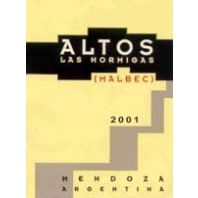 Altos Las Hormigas Malbec 2001