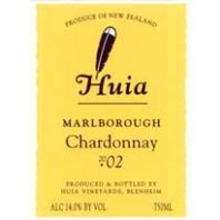 Huia Marlborough Chardonnay 2002