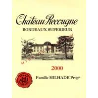 Chateau Recougne Terra Recognita Bordeaux Superieur 2000