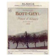 Domaine Bott-Geyl: Pinot d'Alsace Beblenheim 1998