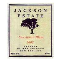 Jackson Estate Marlborough Sauvignon Blanc 2002
