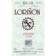 Bodegas Breton Loriñon Tinto Crianza Rioja - 1999