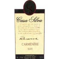 Vina Casa Silva Reserve Carmenere 2000