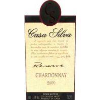 Vina Casa Silva Reserve Chardonnay 2000