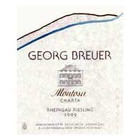 Georg Breuer Montosa Rheingau Riesling 1999