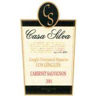 """Casa Silva Cabernet Sauvignon Reserve """"Los Lingues"""" 2001"""