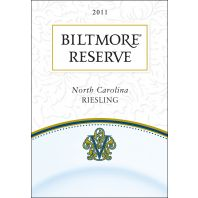 Biltmore Estate Reserve Riesling 2011