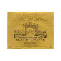 Blason d'Issan du Château d'Issan Margaux 2003