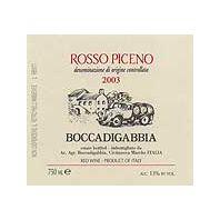 Boccadigabbia Rosso Piceno 2003