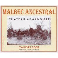 Château Armandière Ancestral Malbec Cahors 2008