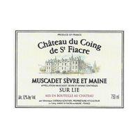 Château du Coing de St. Fiacre Muscadet Sèvre et Maine Sur Lie 2009