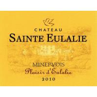 Château Sainte Eulalie Plaisir d'Eulalie Minervois 2010
