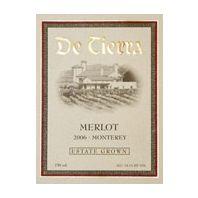 De Tierra Monterey Merlot 2006