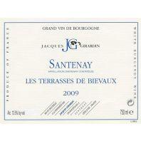 Domaine Jacques Girardin Santenay Les Terrasses de Bievaux 2009