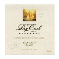 Dry Creek Vineyard Sauvignon Blanc 2008