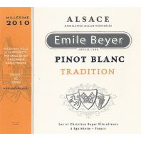 Emile Beyer Tradition Pinot Blanc d'Alsace 2010