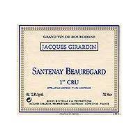 Domaine Jacques Girardin Santenay Premier Cru 2003