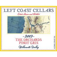 Left Coast Cellars The Orchards Willamette Valley Pinot Gris 2009