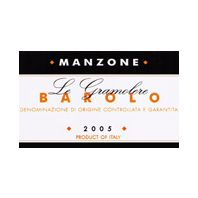 Manzone Le Gramolere Barolo 2005