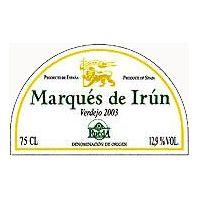 Marques de Irun Rueda Verdejo 2003