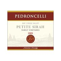 Pedroncelli Dry Creek Valley Family Vineyards Petite Sirah 2005