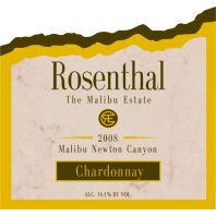 Rosenthal The Malibu Estate Chardonnay 2008