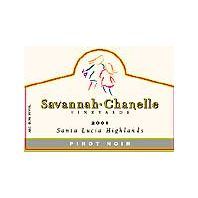 Savannah-Chanelle Vineyards Santa Lucia Highlands Pinot Noir 2001