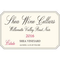 Shea Wine Cellars Shea Vineyard Estate Willamette Valley Pinot Noir 2016