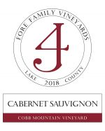 Fore Family Cobb Mountain Vineyard Cabernet Sauvignon 2018