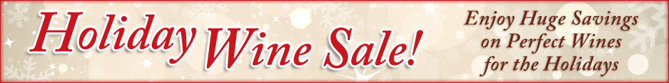 november wine sale banner